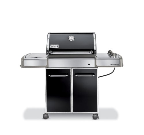 weber 3751001 genesis e 320 propane gas grill black best gas grills reviews. Black Bedroom Furniture Sets. Home Design Ideas